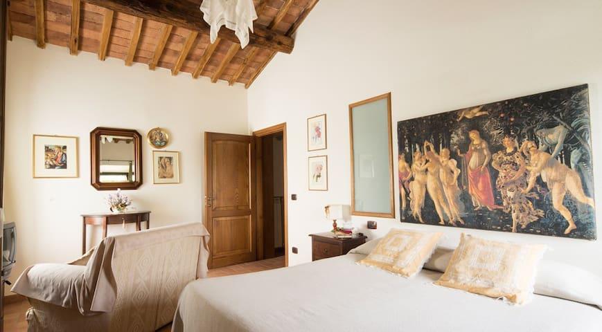 Camera doppia in antico casale - Ancaiano - Overig