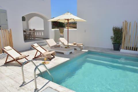 Naxian Album VILLA KALLIOPE, private pool in Naxos