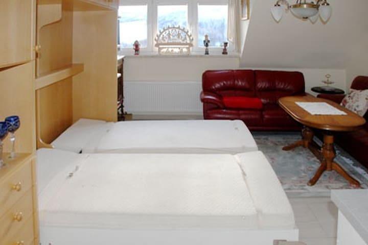 40qm Wohnung mit Blick zum Klinovec
