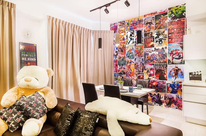 OKGOSTAY: Afiniti Residences 1 Bedroom (Superior)