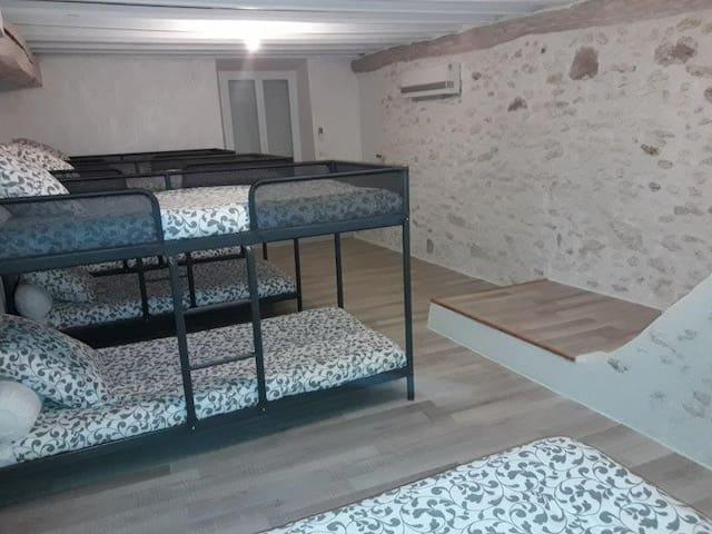 Le dortoir - Jouy-le-Châtel
