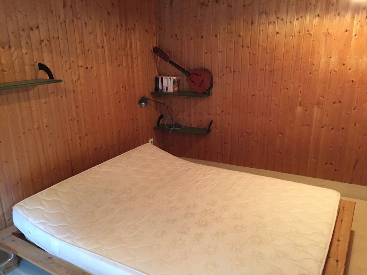 Private bedroom -- sheets will obviously be provided