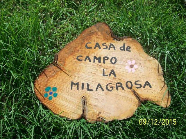 CASA DE CAMPO LA MILAGROSA - Sesquilé - Дом