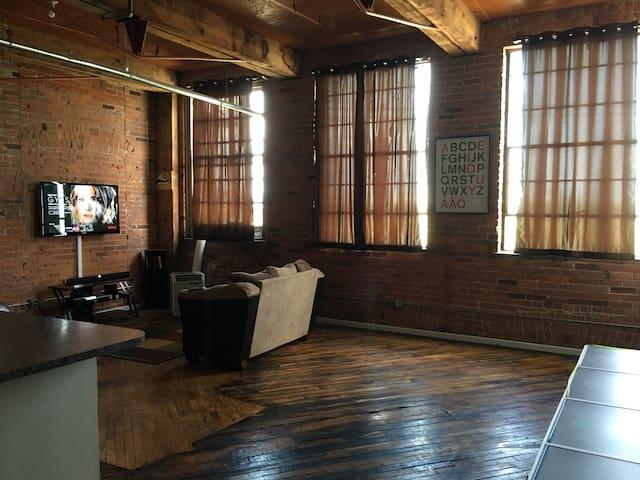 Cozy Loft Downtown Detroit!