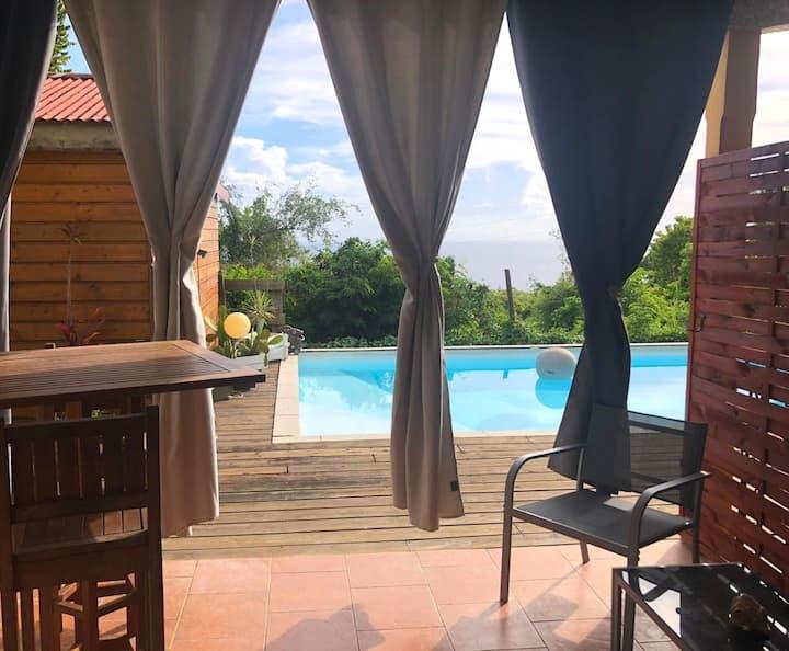 ⚡️Bel appartement accès direct piscine Basse-Terre