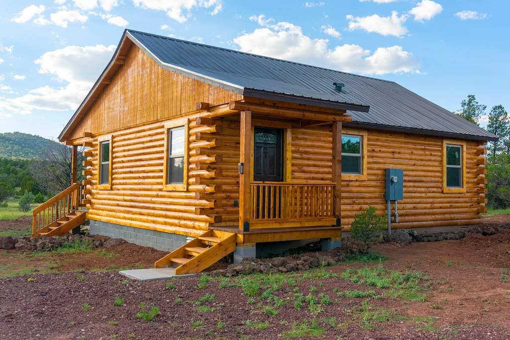 Log Cabin for Rent in Williams Arizona