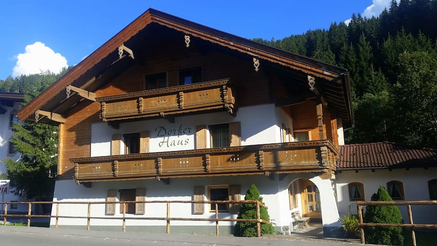 Chalet for an active summer holiday
