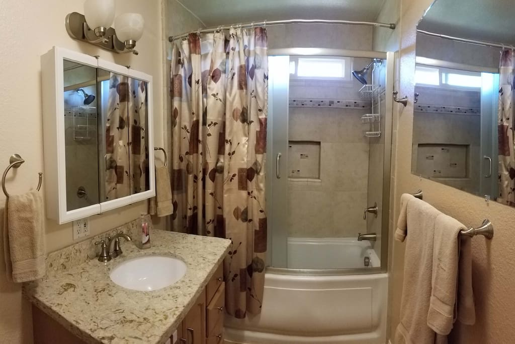 Your semi-private Bathroom (shared if necessary)