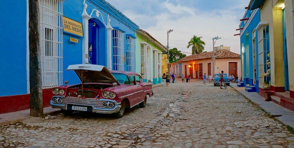 Hostal Damaris. Trinidad Cuba. Room 1 - Trinidad - Lägenhet