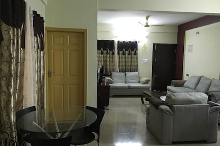 Fully Furnished Flat for Memorable Stay - Bengaluru