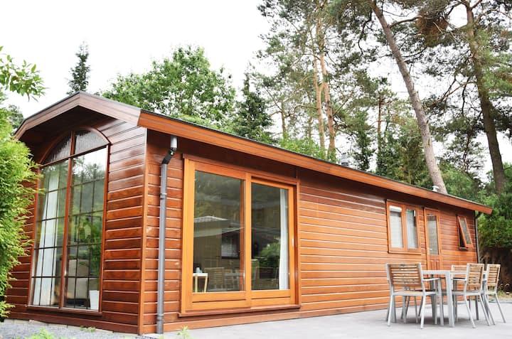 Gezellige en moderne bungalow op de Veluwe