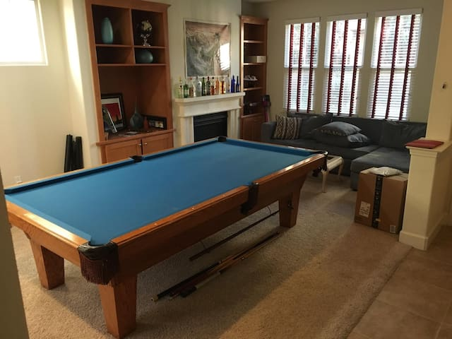 Safe Clean Downstairs Studio in Santa Clara Home