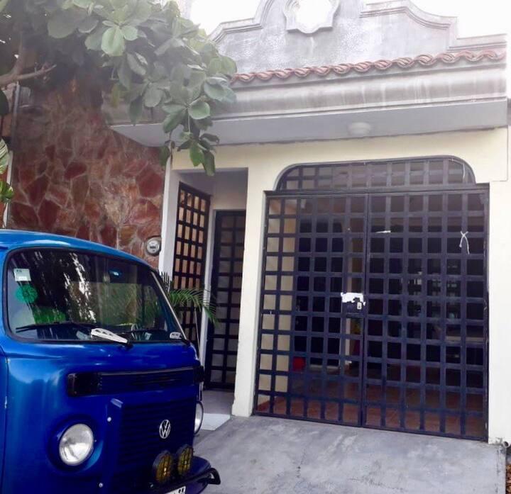 Casa Almendra, a 9min de la playa en auto