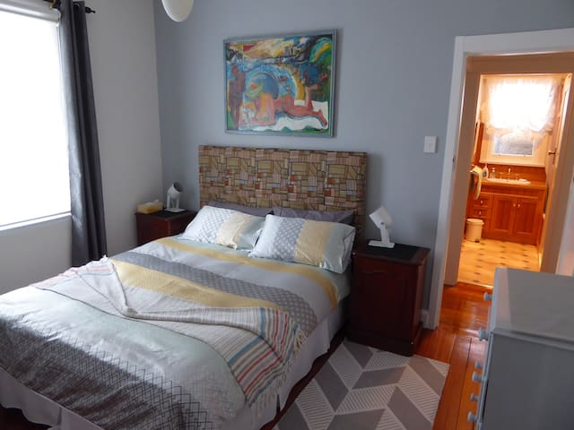 Bright, warm double room with own private bathroom