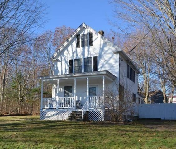 Updated House in Peaceful Setting - South Portland - House