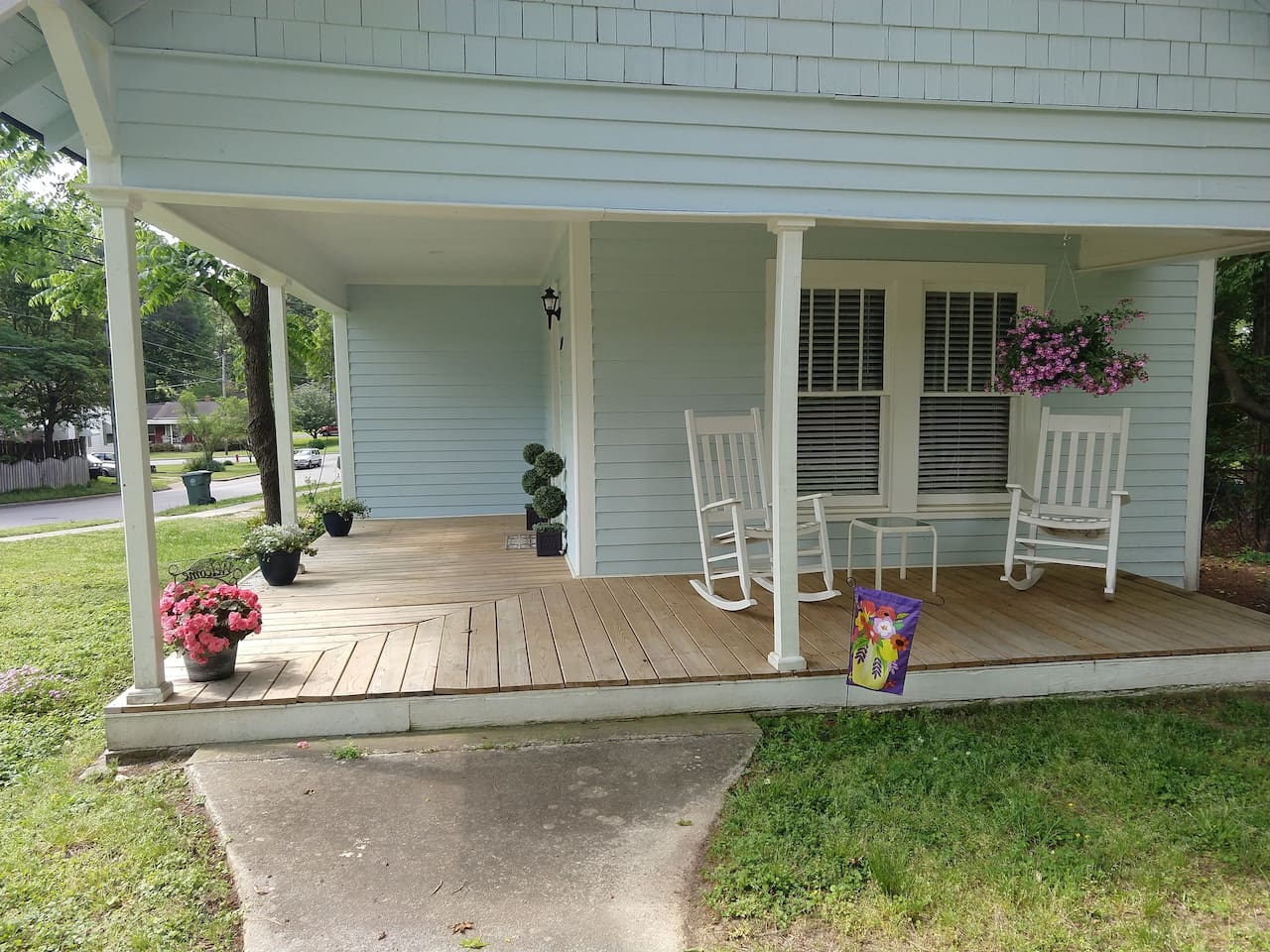 Enjoy the whole cottage plus this lovely front porch for those summer days and nights!