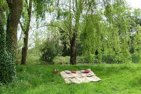 Grande suite à 10mn de Marciac - Ladevèze-Rivière - ที่พักพร้อมอาหารเช้า