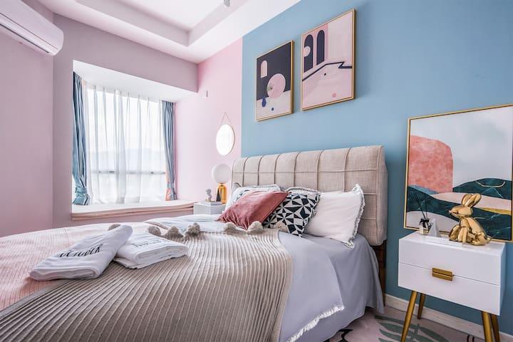 次卧3可看江+舒适1.5米双人床