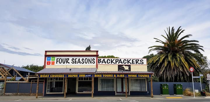 Four Seasons Backpackers in Blenheim