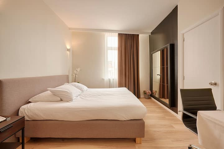 Superior Double/Twin Room at Hotel t Putje Bruges
