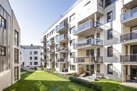 Downtown apartment in Grimstad