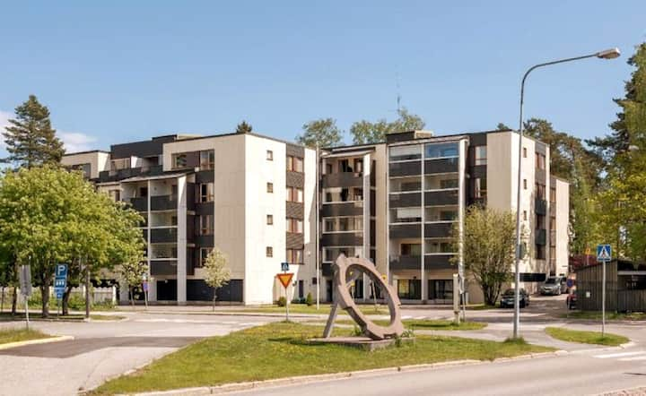 Wonderful Otaniemi seaside apartment & Aalto Univ.
