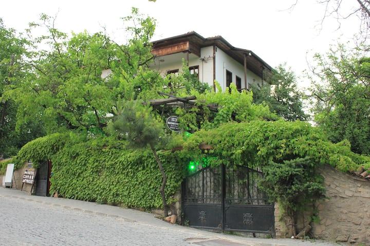 Kuscu Konak Historical Home Terrace Garden 2