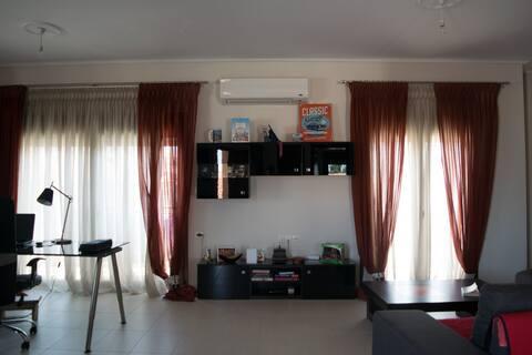 Modern apartment in Velvento center.