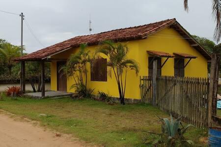 Casa Amarela em Corumbau BA