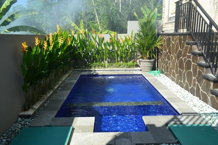 Villa Shanti 3 Bedroom private villa close to Ubud
