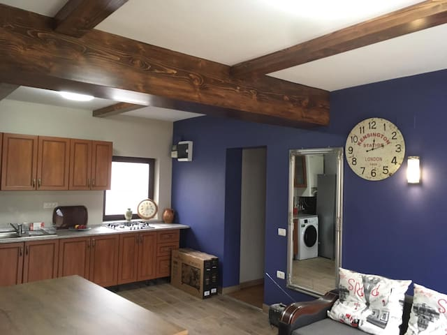 2 Bedroom/2 bath apartment 500m from  Bran Castle
