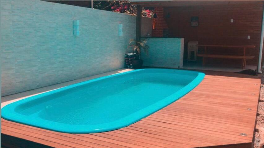 Casa com piscina Campeche