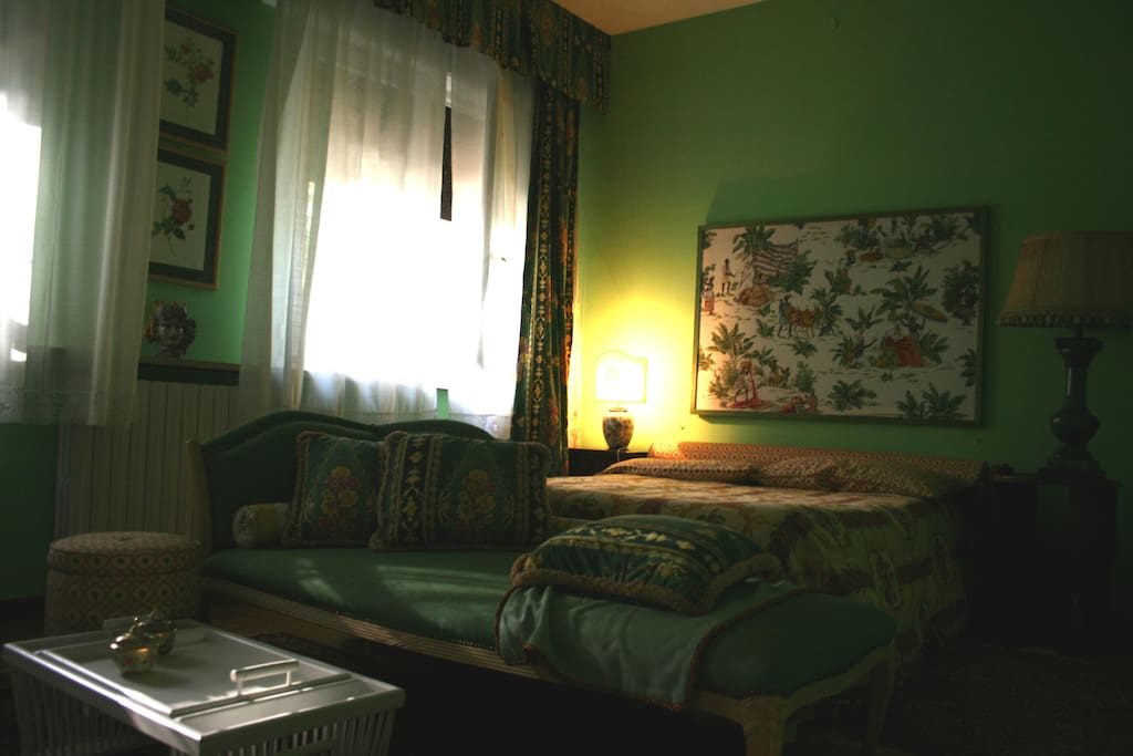 Stanza matrimoniale Verde / Green double room