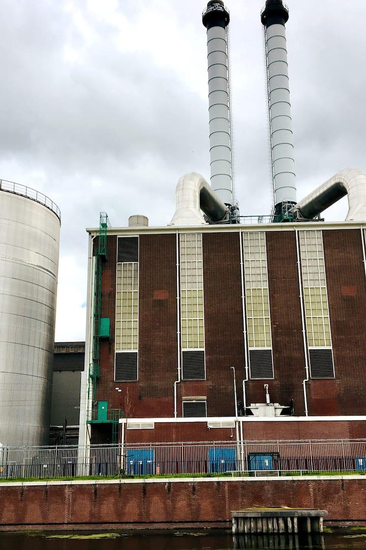 Energiecentrale, wat valt je op?
