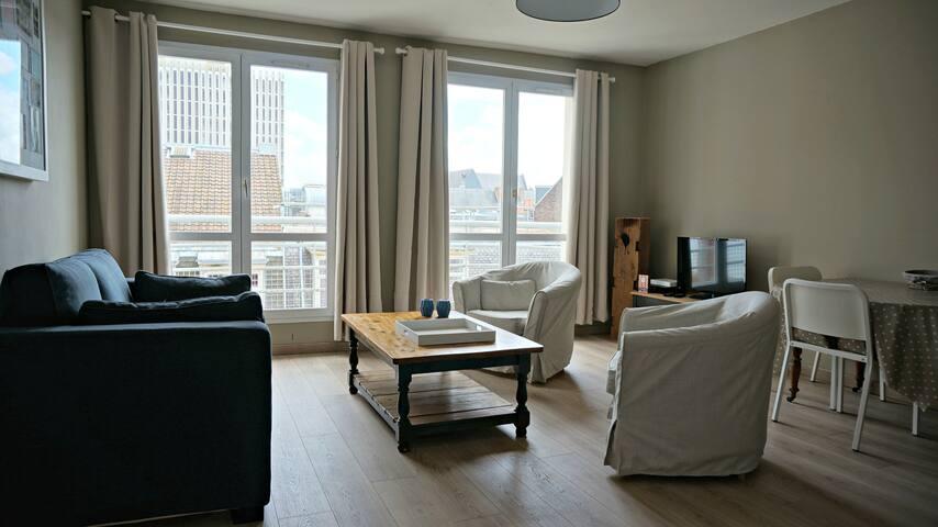 Appartement Vieux Lille avec parking et balcon - Lille - Leilighet