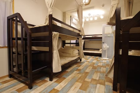 Stylish hostel 1 min walk from Dogo Onsen spa.