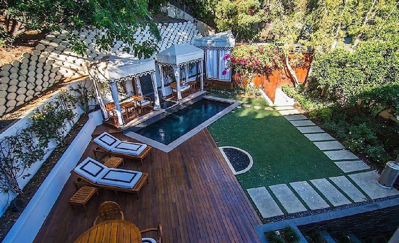Celebrity Hollywood Hills |4B| Pool| Movie Theater - ลอสแอนเจลิส - บ้าน