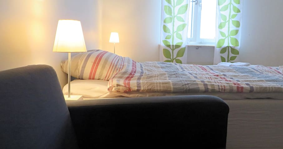 Spacious room with comfort and walk-in closet - Malmö - Departamento