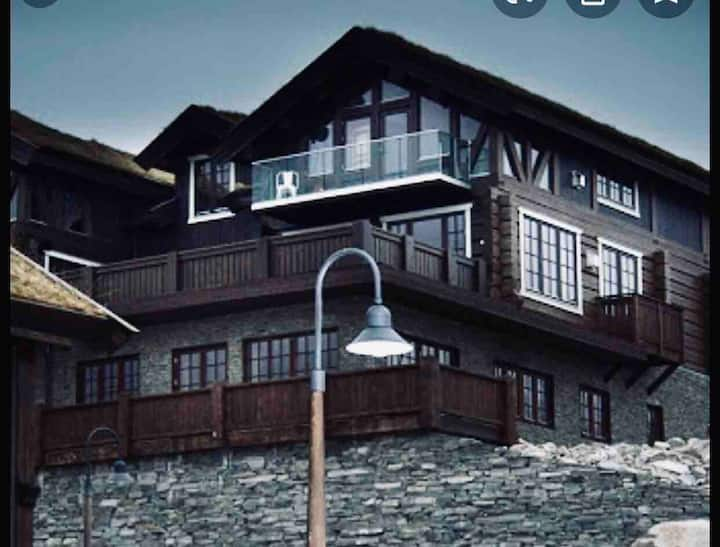 Stor ny leilighet 1.etasje i Hovden Lodge bygget.