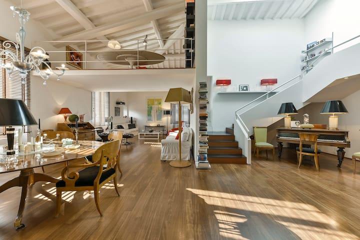 Luxury apartment in Oltrarno - Florens - Lägenhet