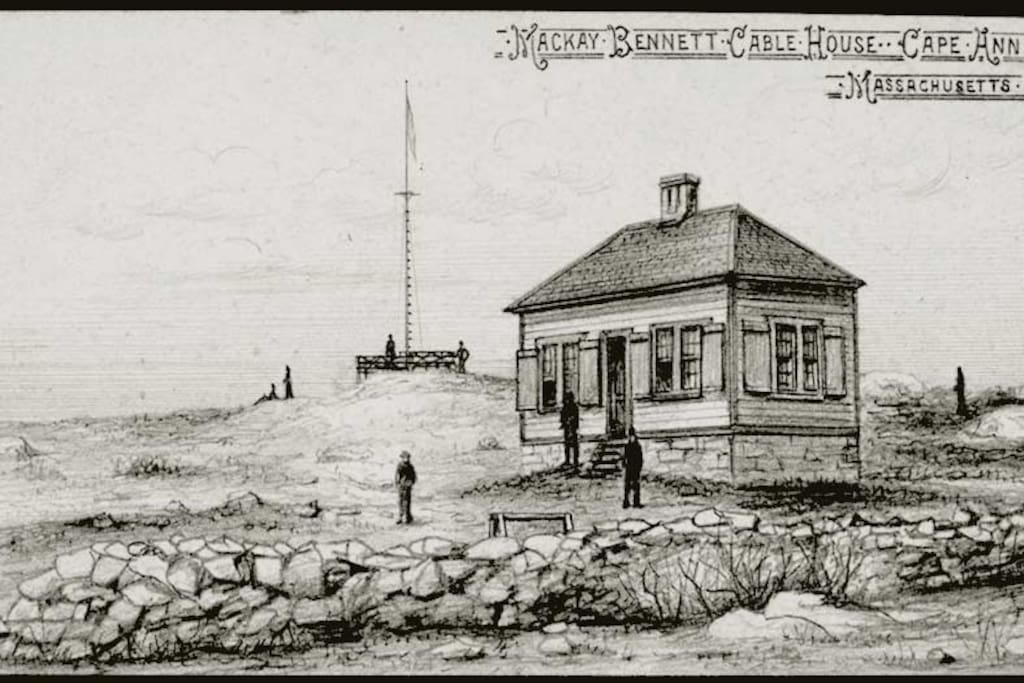 Cable House-Cable House as drawn for a 1884 New York Times Article about the