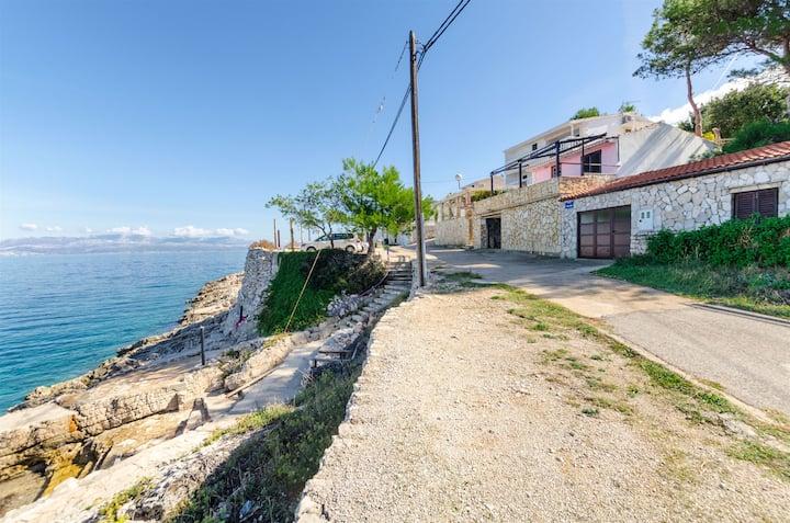 Kuća s dvije sobe, na plaži, Rogač - otok Šolta