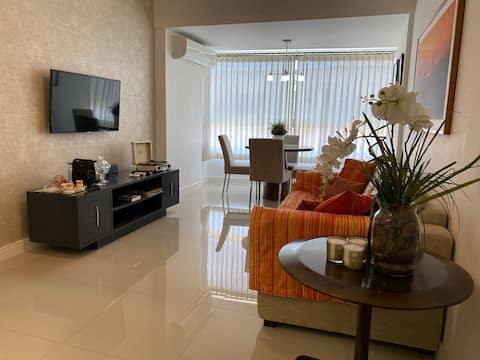 Quarto e Sala na Barra - Concept House Brazil