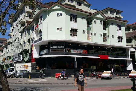 Compact city centre flat - Kota Kinabalu - Lakás