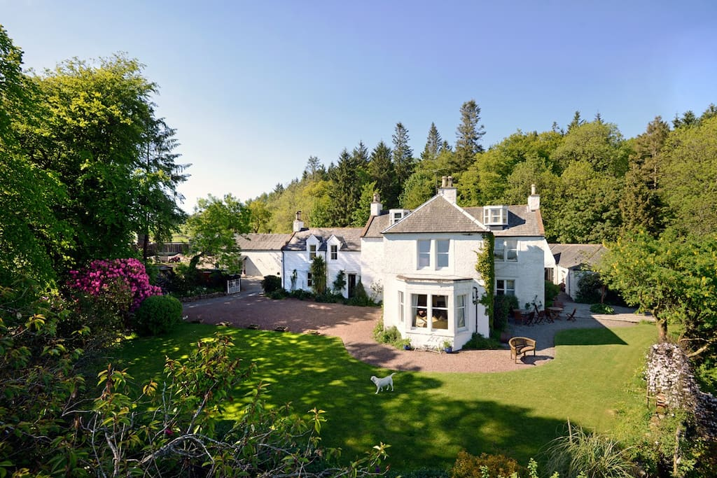 Craigadam C18th Country House Bed And Breakfasts For