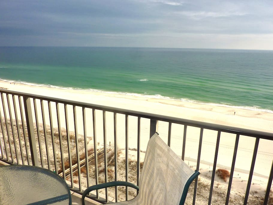 View of beach from Condo Deck