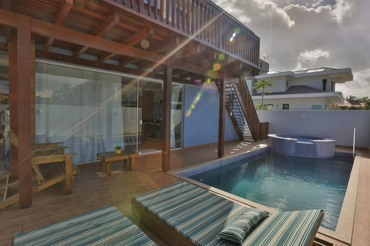 Morada do Mar Pé na Areia Campeche piscina e hidro