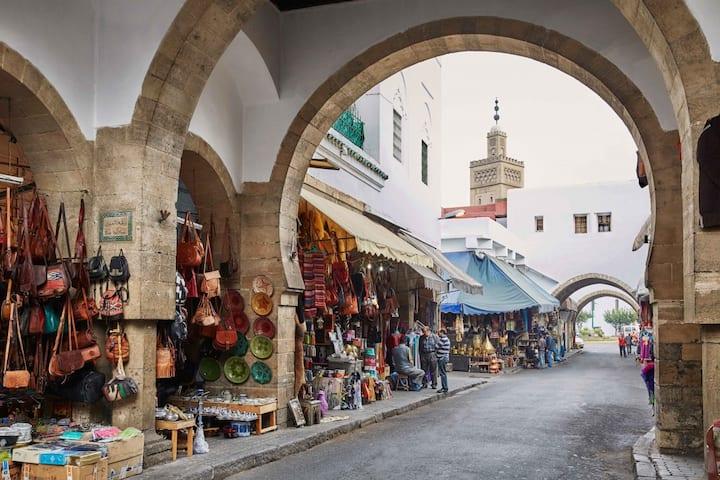 Spacious Room old medina city