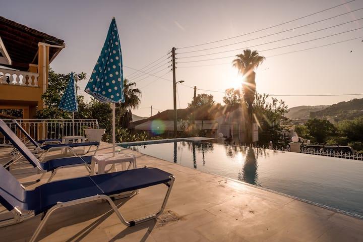 San Georgio Hotel · Corfu San Georgio 3*  B&B Hotel with Pool