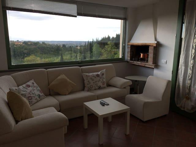 Il Vecchio Frantoio 2 con vista - San Miniato - Apartament